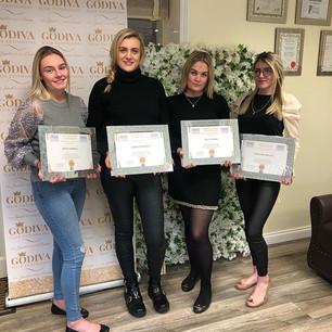 Congratulations ladies for passing the m