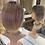 Thumbnail: Rose Gold/Ash Blonde Bobbed Fibre Wig