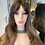 Thumbnail: Caramel Brunette Synthetic Fibre Wig