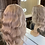 Thumbnail: Ash Blonde Curly Fibre Wig
