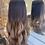 Thumbnail: Chocolate Brown Wavy Fibre Hair Wig