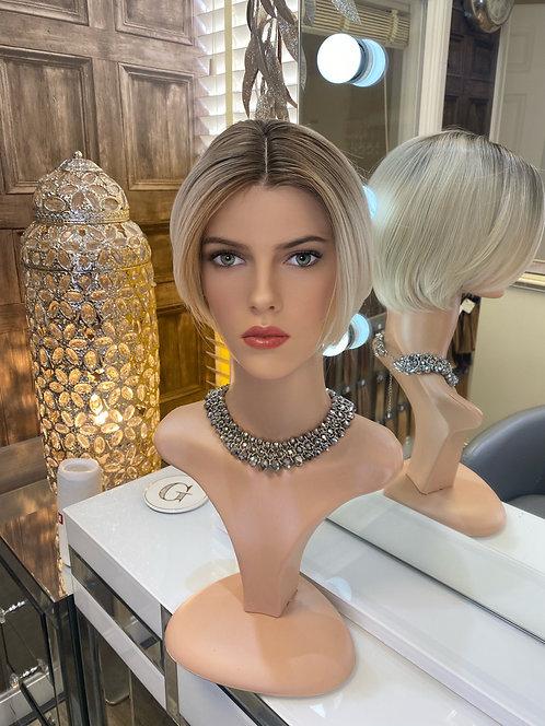 Ash Blonde Pixie Cut Fibre Wig