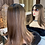Thumbnail: Mixed Brown with Dark Roots Fibre Wig
