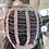 Thumbnail: Caramel Wavy Bang Fringe Fibre Wig