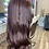 Thumbnail: Lace Front Warm Brunette Synthetic Wig