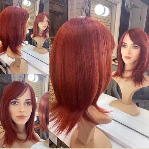 Auburn Fibre Wig