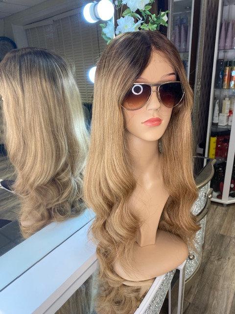 Caramel 100% Russian Human Hair Wig