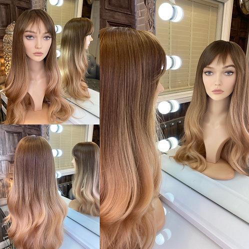 Caramel Honey Blonde Fibre Wig