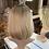 Thumbnail: Golden Blonde Bobbed Fibre Wig