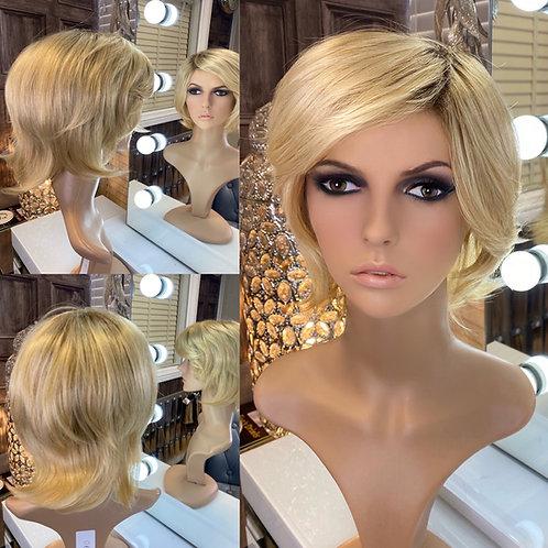 Golden Blonde Wispy Pixie Fibre Wig