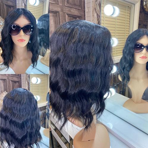 Onyx Black Fibre Wig