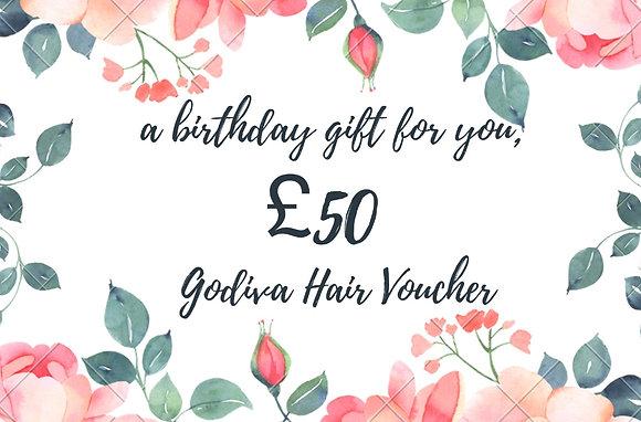 Godiva Birthday Voucher