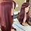 Thumbnail: Deep Cherry Red Fibre Wig