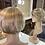 Thumbnail: Honey Blonde Swooped Pixie Fibre Wig
