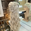 Thumbnail: Ash Blonde Braided Wavy Fibre Wig