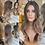 Thumbnail: Ash Blonde Ombré Wavy Fibre Hair Wig