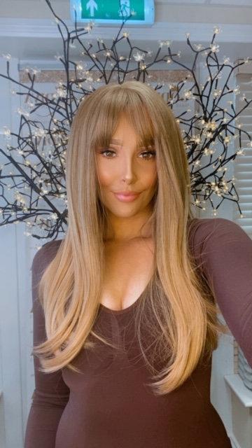 Soft Honey brown Fibre Wig