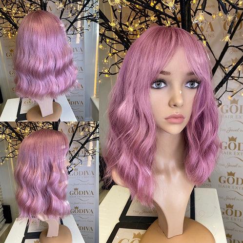 Candy Floss Pink Fibre Wig