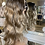 Thumbnail: Mixed caramel browns curly fibre wig