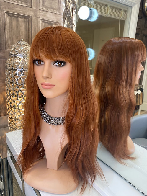 Auborn Red Fibre Wig