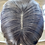 Thumbnail: Caramel brown wavy fibre wig