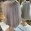 Thumbnail: Ash Blonde Bobbed Human Hair Wig