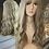 Thumbnail: Natural Ash Blonde Fibre Wig