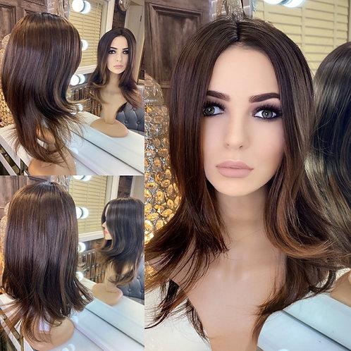Brunette Flicky Fibre Wig