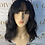 Thumbnail: Dark Brown beach weave Fibre Wig