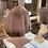 Thumbnail: Copper Rose Gold Bobbed Fibre Wig