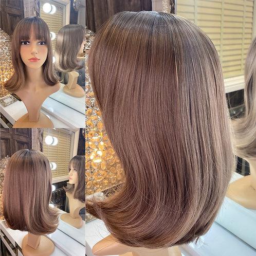 Soft Auborn Brown Fibre Wig