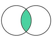 Mandorla symbol large green centre.png