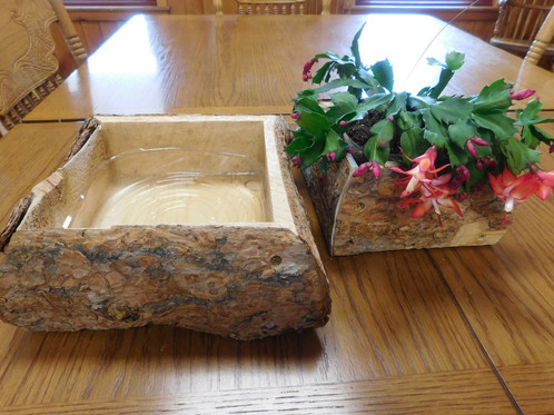 Hand-Crafted Wood Planter | Sharing the Best for Food Equality | Laramie,  Wyoming