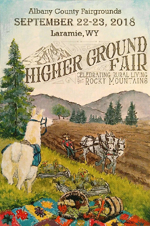 Higher Ground Fair 2018 Poster