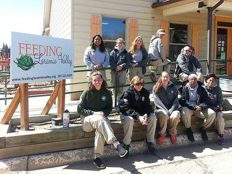 AmeriCorps NCCC joins Feeding Laramie Valley