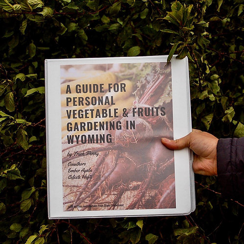 Feeding Laramie Valley Garden Manual