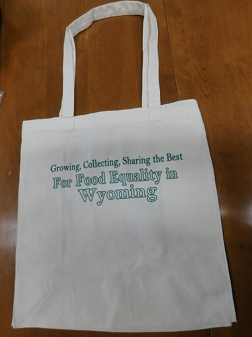 Feeding Laramie Valley Reusable Tote Bag