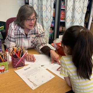 Grandma Linda has worked with kindergart