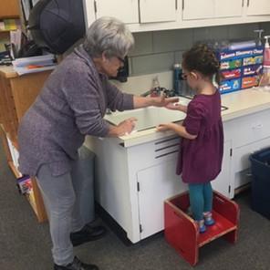 Grandma Karyl mentors life skills in her
