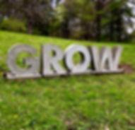 GROW Concrete words