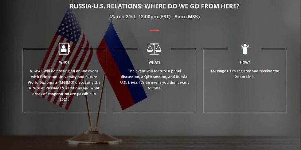Russia-U.S. Relations: Where do we go from here?