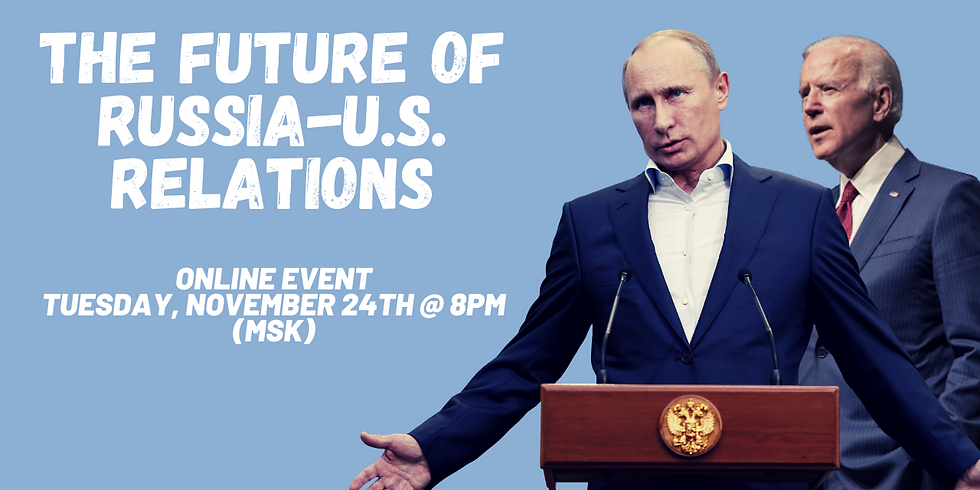 The Future of Russia-U.S. Relations