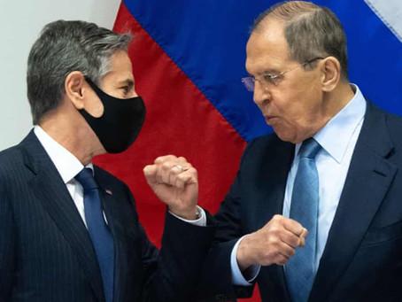 Blinken-Lavrov Talks, Nord Stream 2 Sanctions Waiver 'Encouraging Step Forward'