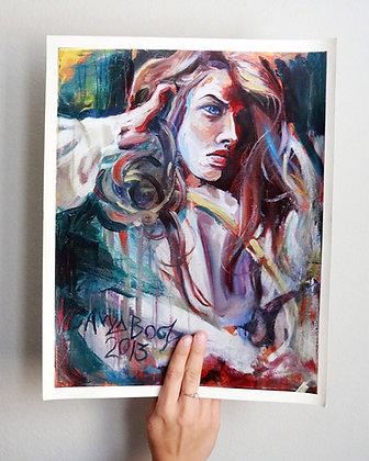 """Marrow's Mistress"" Print"