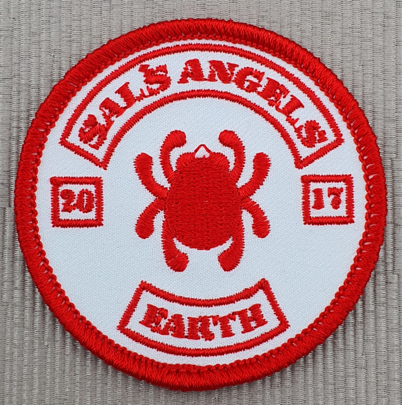 Spyderco Sals Angels patch