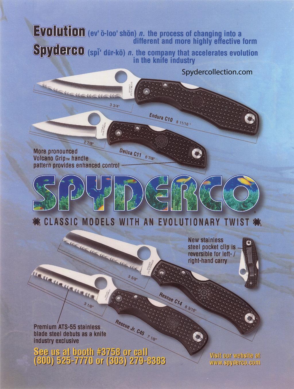 Shot show ad 1998