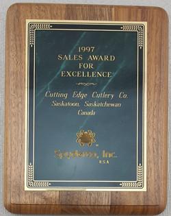 Spyderco award 1997