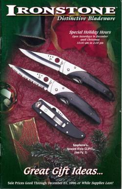 Ironstone Holiday 1996 catalogue