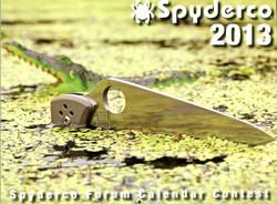 2013 Spyderco Calendar