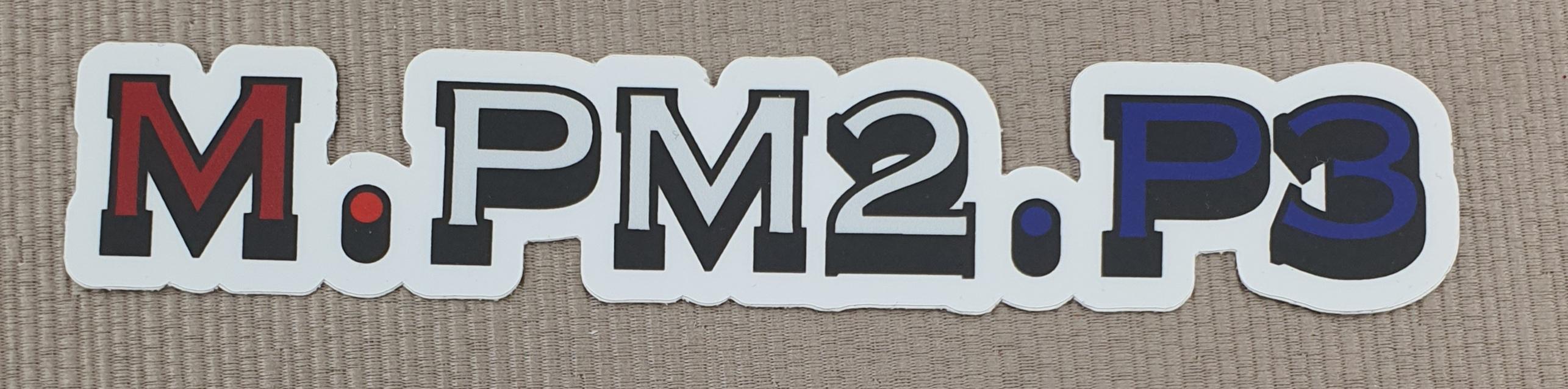 MPM2P3 sticker